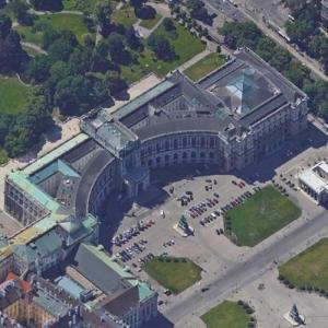 Hofburg (Google Maps)