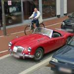 Classic car - MG MGA (StreetView)