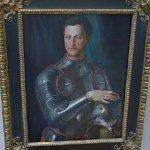 """Cosimo I de' Medici in armour"" by Agnolo Bronzino (StreetView)"
