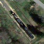 Chesapeake & Ohio RR #2760 (Google Maps)