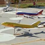 Mini Israel: airplane models