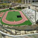 Mini Israel: track & field stadium (StreetView)