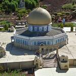 Mini Israel: Dome of the Rock (StreetView)