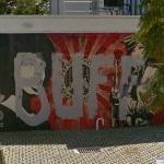 Shepard Fairey Graffiti (StreetView)