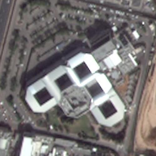headquarters of the mossad in tel aviv  israel  google maps
