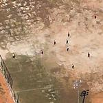 Football game in progress (Google Maps)