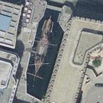 Replica of the Sir Francis Drake's Golden Hind (Google Maps)