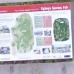 Map of Eglwys Santes Fair