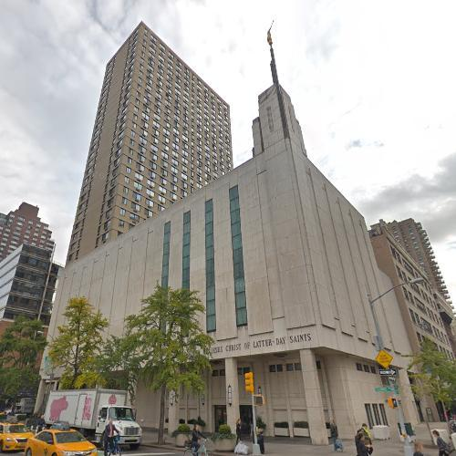LDS Temple – Manhattan in New York, NY (Google Maps)