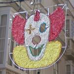 Clown decoration (StreetView)