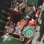 Oil Platform 'Bulford Dolphin' (Google Maps)