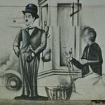 Charlie Chaplin Graffiti (StreetView)