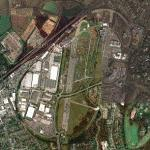 Brooklands racetrack and airfield