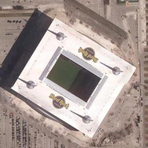 Hard Rock Stadium (Google Maps)