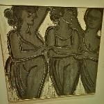 'Three Graces, Black and White' by Lester Johnson (StreetView)