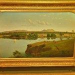 """""""Purrumbete from across the lake"""" by Eugene Von Guerard (StreetView)"""