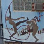 Gymnastic Mural (StreetView)