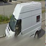 Loomis armored van (StreetView)