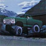 Ford 4x4 mural