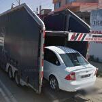 Automobile transport trailer