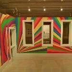 'Wall Drawing #1091: Arcs, Circles and Bands (Room)' by Sol LeWitt (StreetView)
