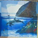 Wyland Whale Mural - 'Dolphins of Makapuu Point' (StreetView)