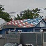 "Scott LoBaido ""Flags Across America"" roof (StreetView)"