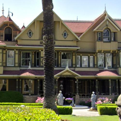 Winchester Mystery House (StreetView)