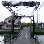 Huningue Canal Draw Bridge (StreetView)