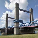 Calandbrug - Vertical Lift Bridge (StreetView)