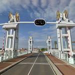 Stadsbrug Kampen - Vertical Lift Bridge (StreetView)