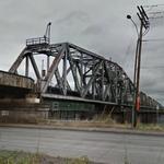 B.N.S.F. - Oregon Slough Bridge (StreetView)