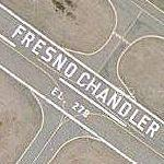 Fresno Chandler Airport (Google Maps)