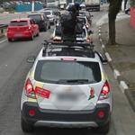 Google Cars Convoy