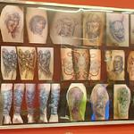 Pictures of tattoos (StreetView)