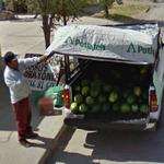 Watermelon vendor