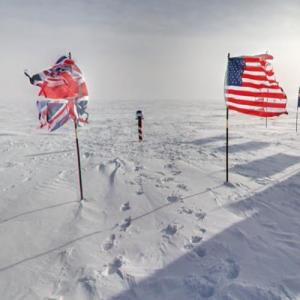Ceremonial South Pole (StreetView)