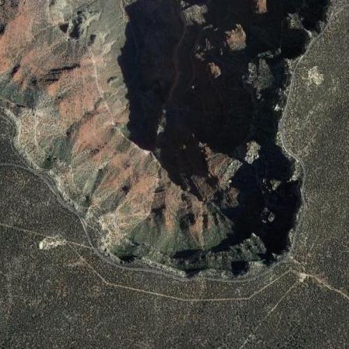 Grand Canyon - Rim Road (Google Maps)