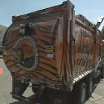 Tiger Sanitation truck (StreetView)