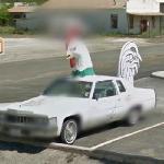Church's Chicken car (StreetView)