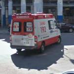 SAMU ambulance (StreetView)