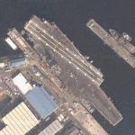 USS Kitty Hawk (CV-63) (Google Maps)