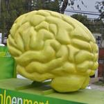 Giant Cerebrum on a Truck (StreetView)