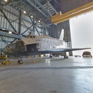 Space Shuttle Endeavour (StreetView)