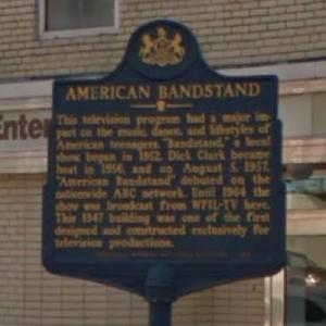American Bandstand Historical Marker (StreetView)