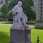 Sculpture by John Hughes of George Salmon in Trinity College (StreetView)