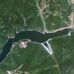 Badovac Lake (Google Maps)