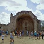 Ruins of the colonial open chapel (Dzibilchaltú) (StreetView)