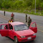 Military checkpoint (StreetView)