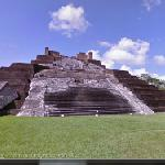 Temple I of Comalcalco (StreetView)
